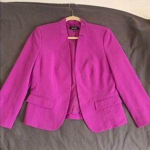 Nine West Magenta Suit Jacket